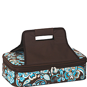 Entertainer Hot & Cold Food Carrier Cocoa Cosmos