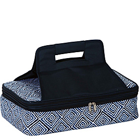 Entertainer Hot & Cold Food Carrier Blue Diamond