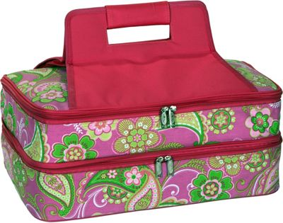 Picnic Plus Entertainer Hot & Cold Food Carrier Pink Desire - Picnic Plus Outdoor Coolers