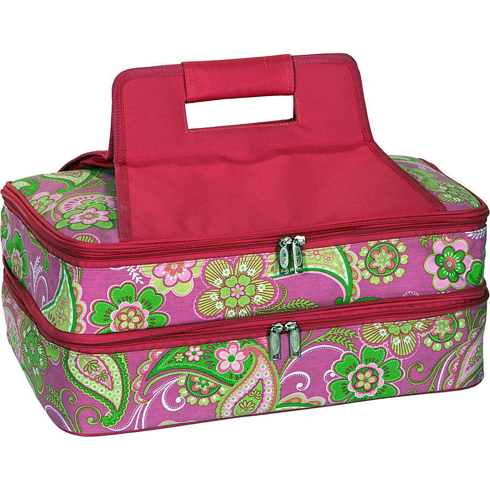 Picnic Plus Entertainer Hot Cold Food Carrier Pink Desire Picnic Plus Travel Coolers