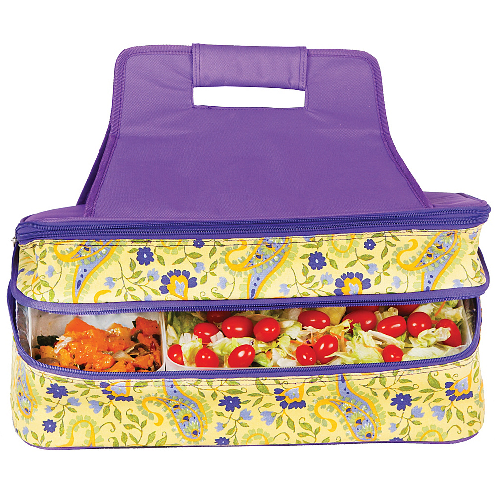 Picnic Plus Entertainer Hot & Cold Food Carrier - Outdoor, Outdoor Coolers