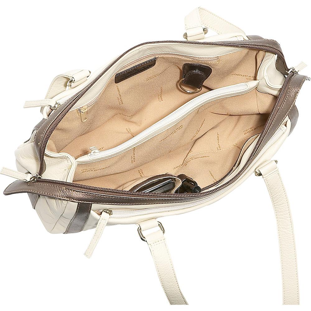 Derek Alexander Medium Duffle Handbag - Brown/Bronze