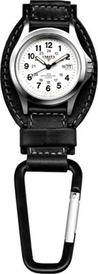 Dakota Watch Company Leather Hangers - Black