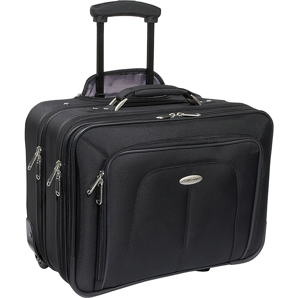 Samsonite Business One Mobile Office - Black - Work Bags & Briefcases, Wheeled Business Cases