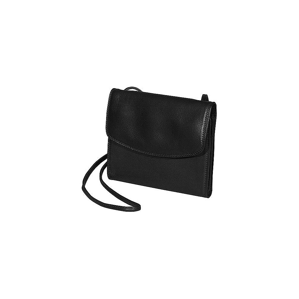 Derek Alexander Alternatives Small Organizer - Black - Handbags, Leather Handbags