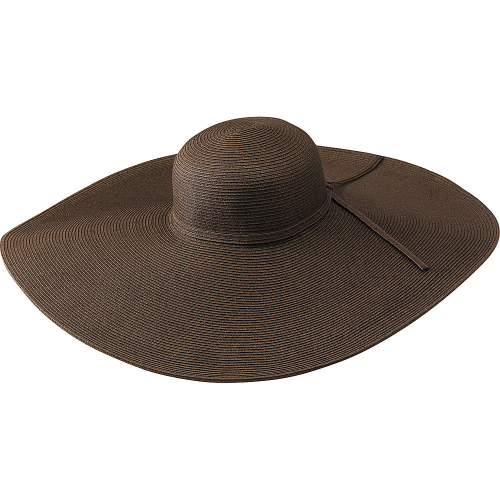 San Diego Hat Ultrbraid X Large 8 Inch Brim - Chocolate - Fashion Accessories, Hats/Gloves/Scarves