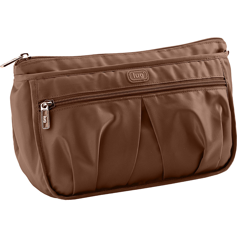 Lug Life Parasail Ripple Cosmetic Case - Chocolate