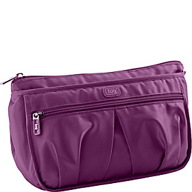 Parasail Ripple Cosmetic Case Plum