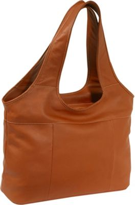 Piel Laptop Hobo - Saddle