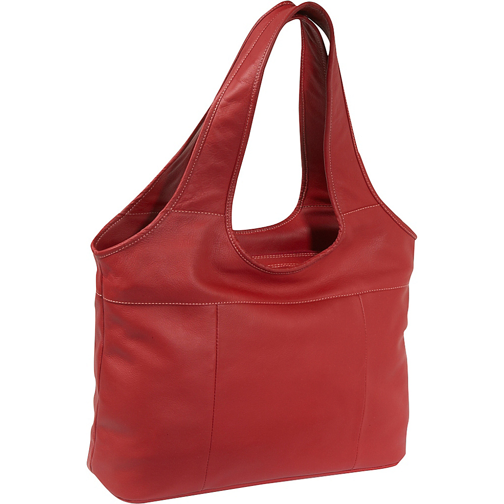 Piel Laptop Hobo Red Piel Women s Business Bags