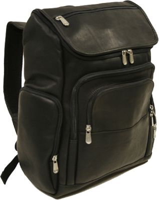Black Leather Laptop Backpacks - eBags.com