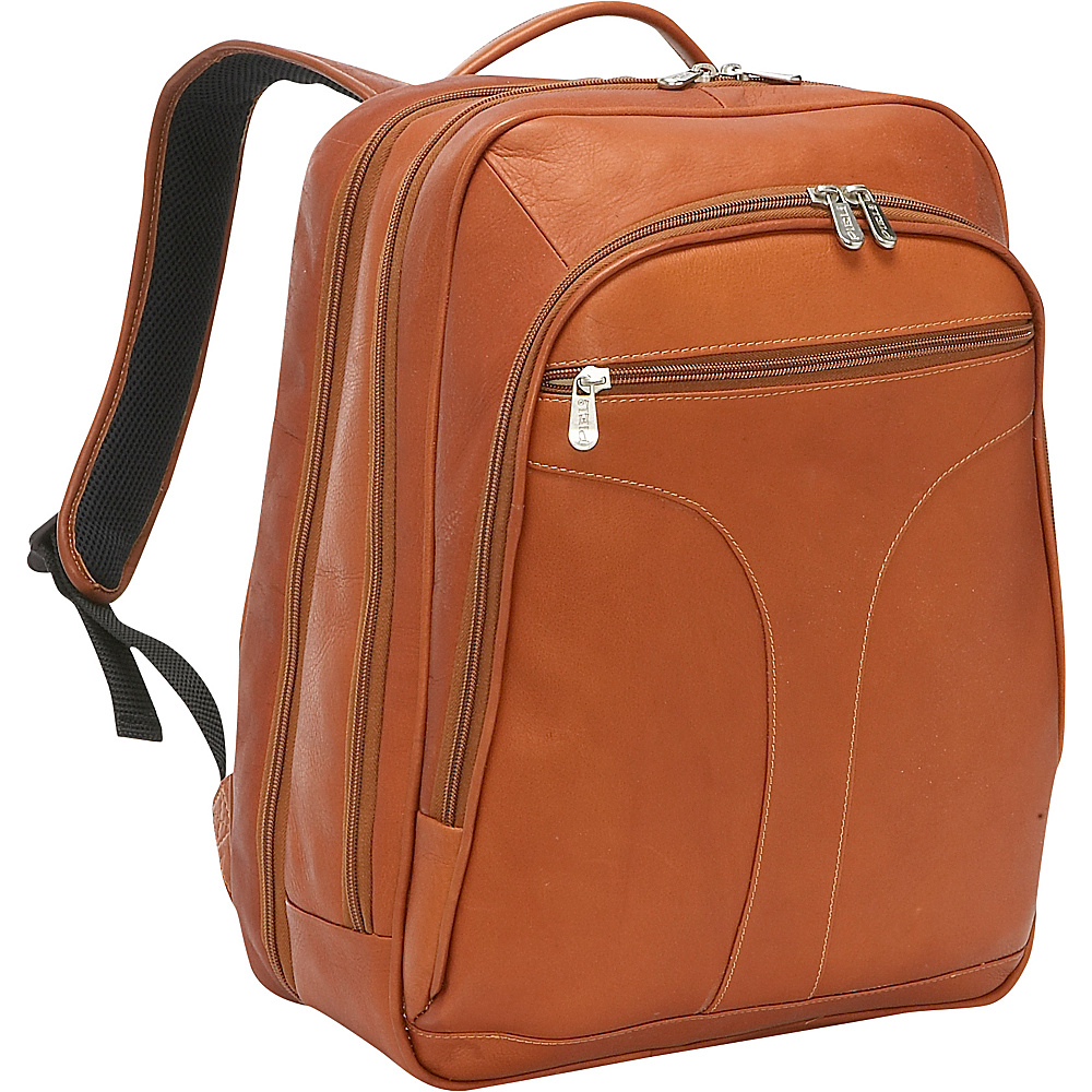 Piel Checkpoint Friendly Urban Laptop Backpack Saddle