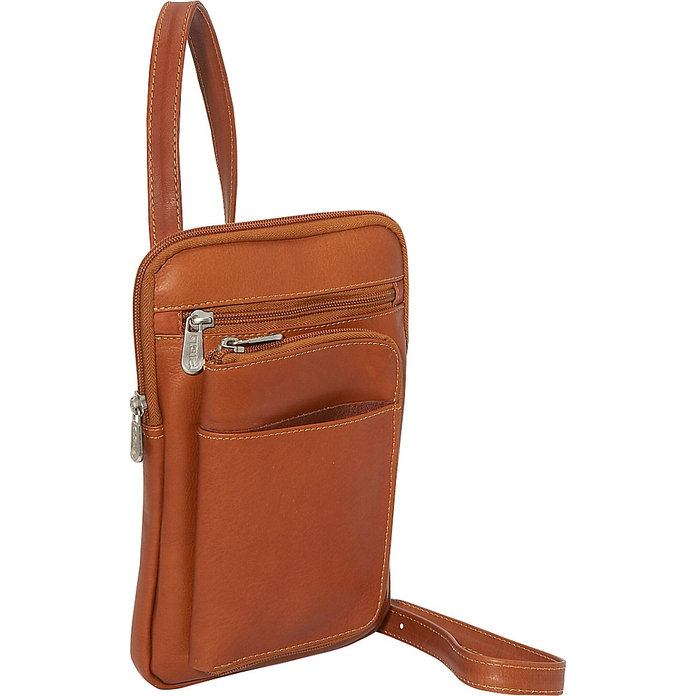 Piel Hanging Travel Organizer Saddle