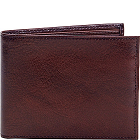 ID Wallet With Fold Out Flap Brown - Country Lux