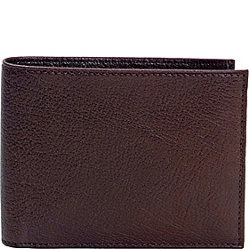 ID Wallet With Fold Out Flap Brown Venetian
