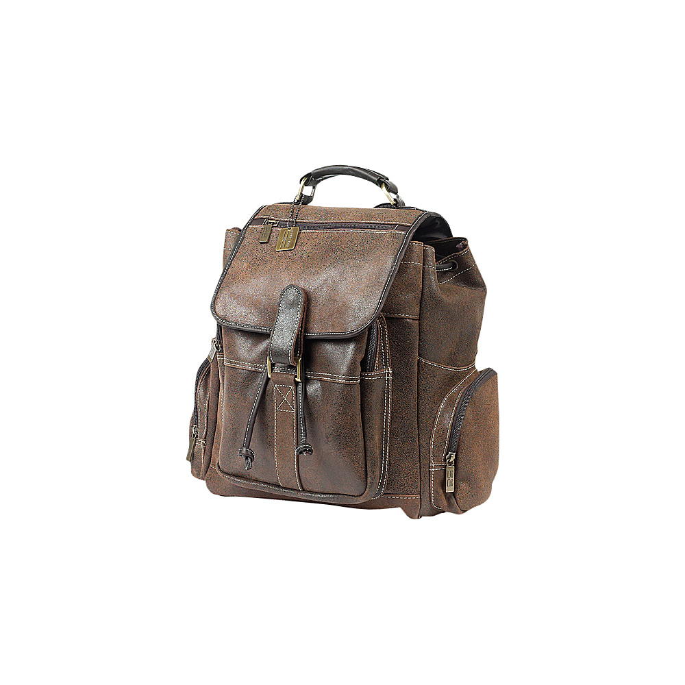ClaireChase Uptown Bak Pack Distressed Brown