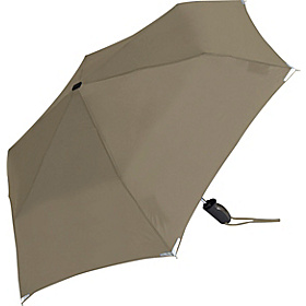 WalkSafe® Auto Open & Close Umbrella - Solid Colors Khaki