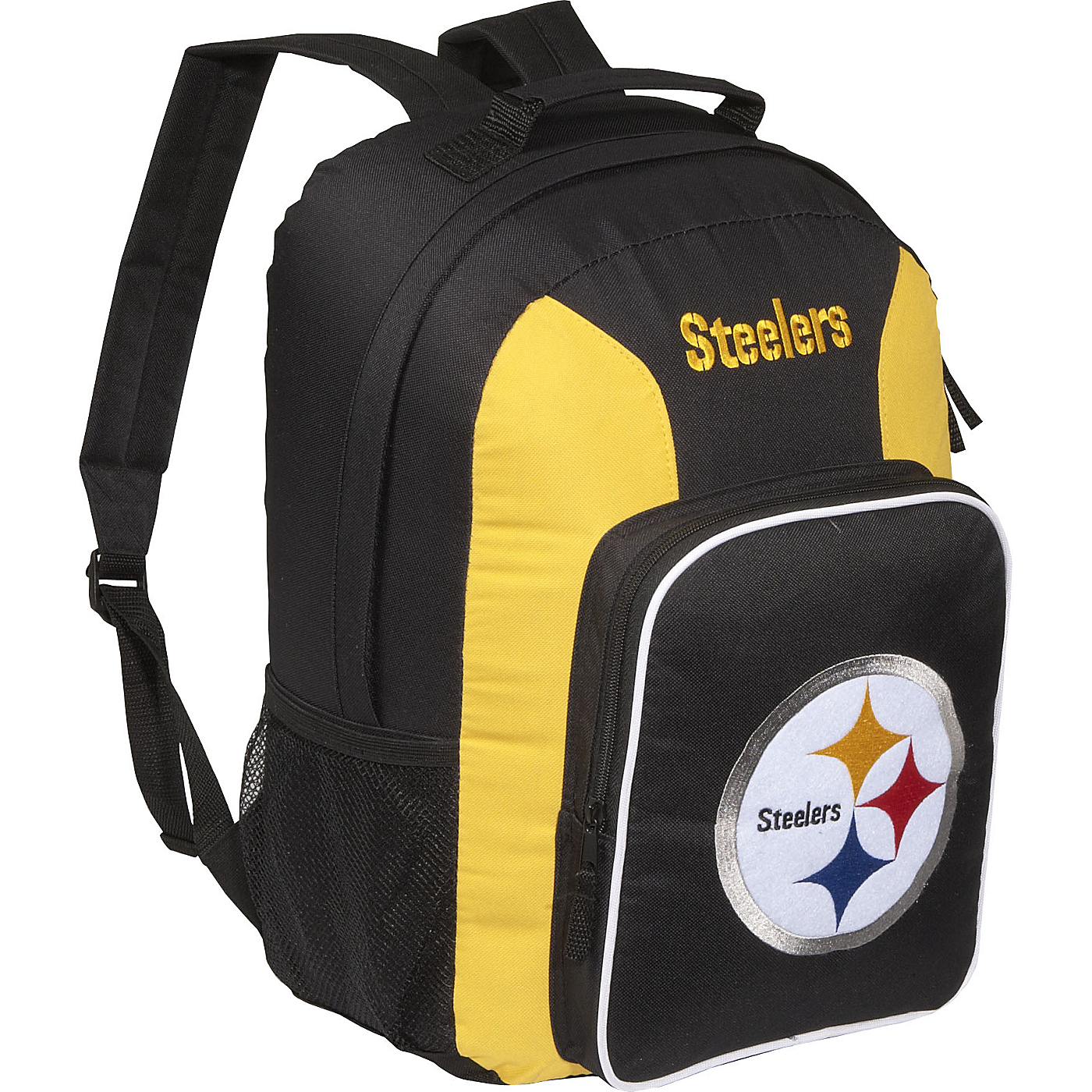 Pittsburgh Steelers Backpack Gold Concept One School   Day Hiking on ... 6b665a204
