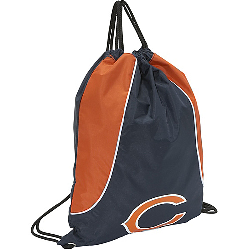 Concept One Chicago Bears String Bag Chicago Bears Navy - Concept One Gym Bags