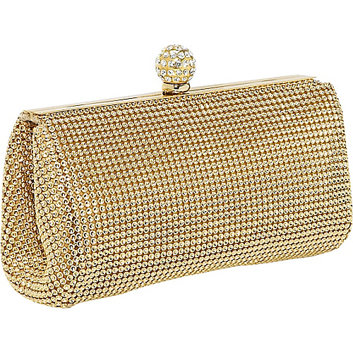 Whiting and Davis Dimple Mesh Clutch