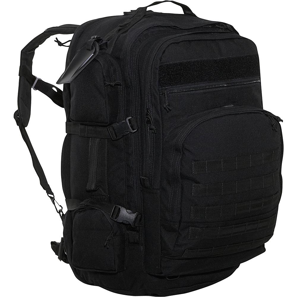 SOC Gear Long Range - 1,000 Denier - Black - Backpacks, Everyday Backpacks