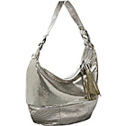 Buy Whiting and Davis Fan Leather Hobo by Whiting and Davis