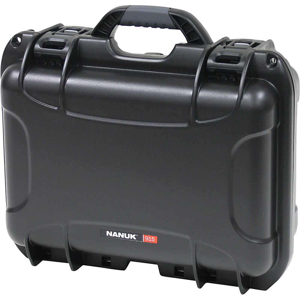 NANUK 915 Case w padded divider Black
