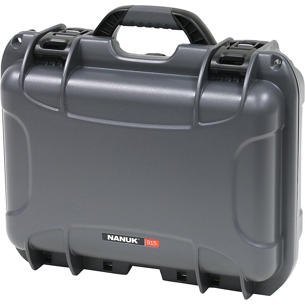 NANUK 915 Case w padded divider Graphite