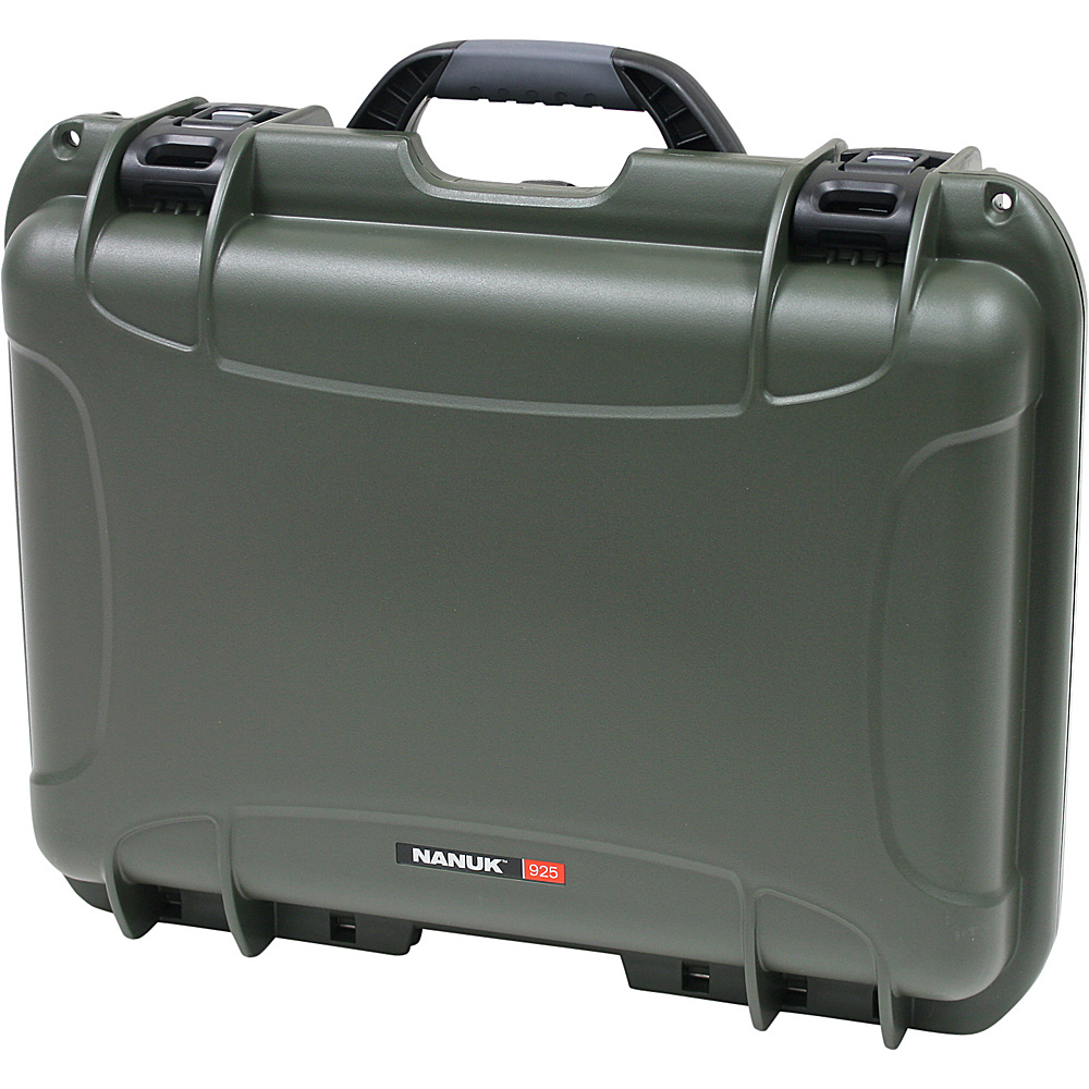NANUK 925 Case w/padded divider - Olive - Technology, Camera Accessories
