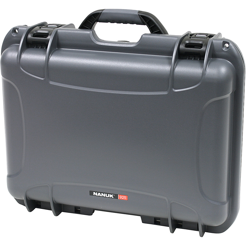 NANUK 925 Case w/padded divider - Graphite - Technology, Camera Accessories