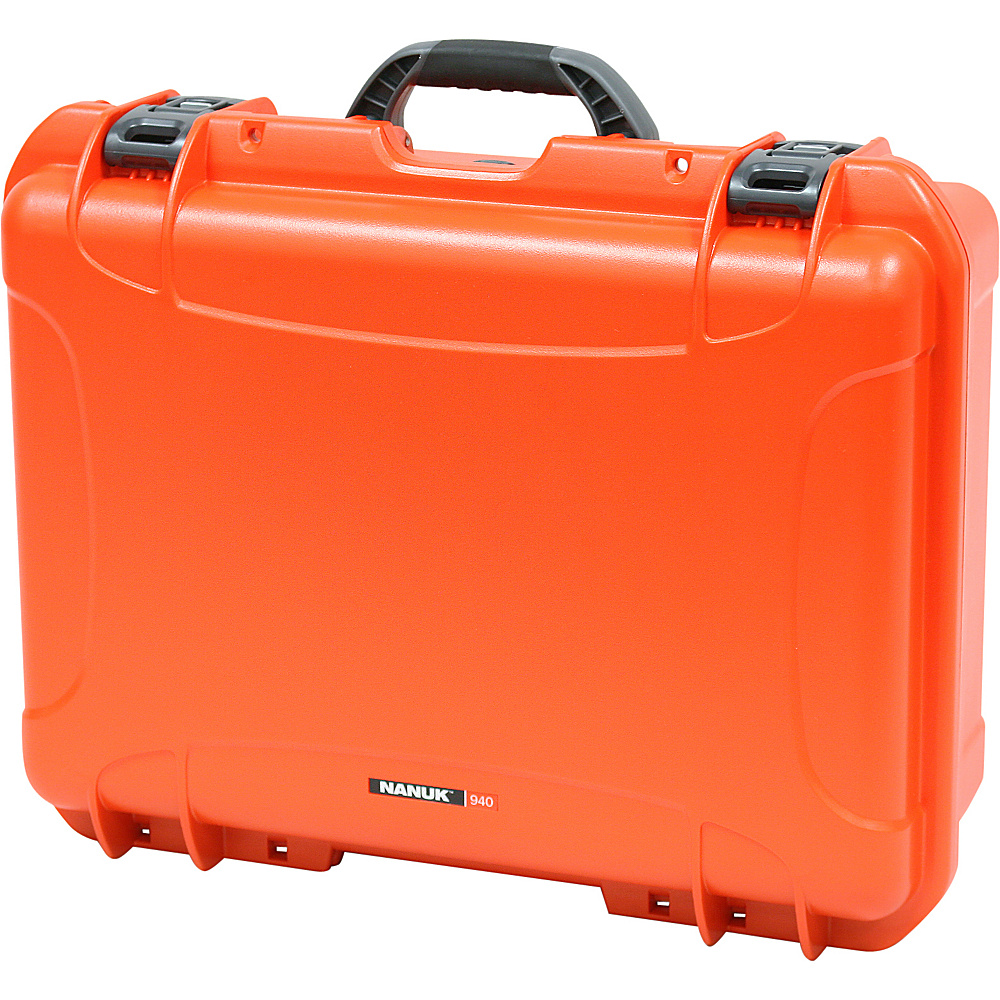 NANUK 940 Case w/padded divider - Orange - Technology, Camera Accessories