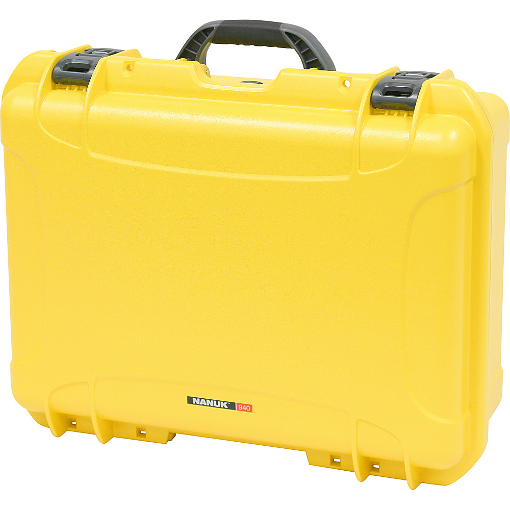 NANUK 940 Case w/padded divider - Yellow - Technology, Camera Accessories