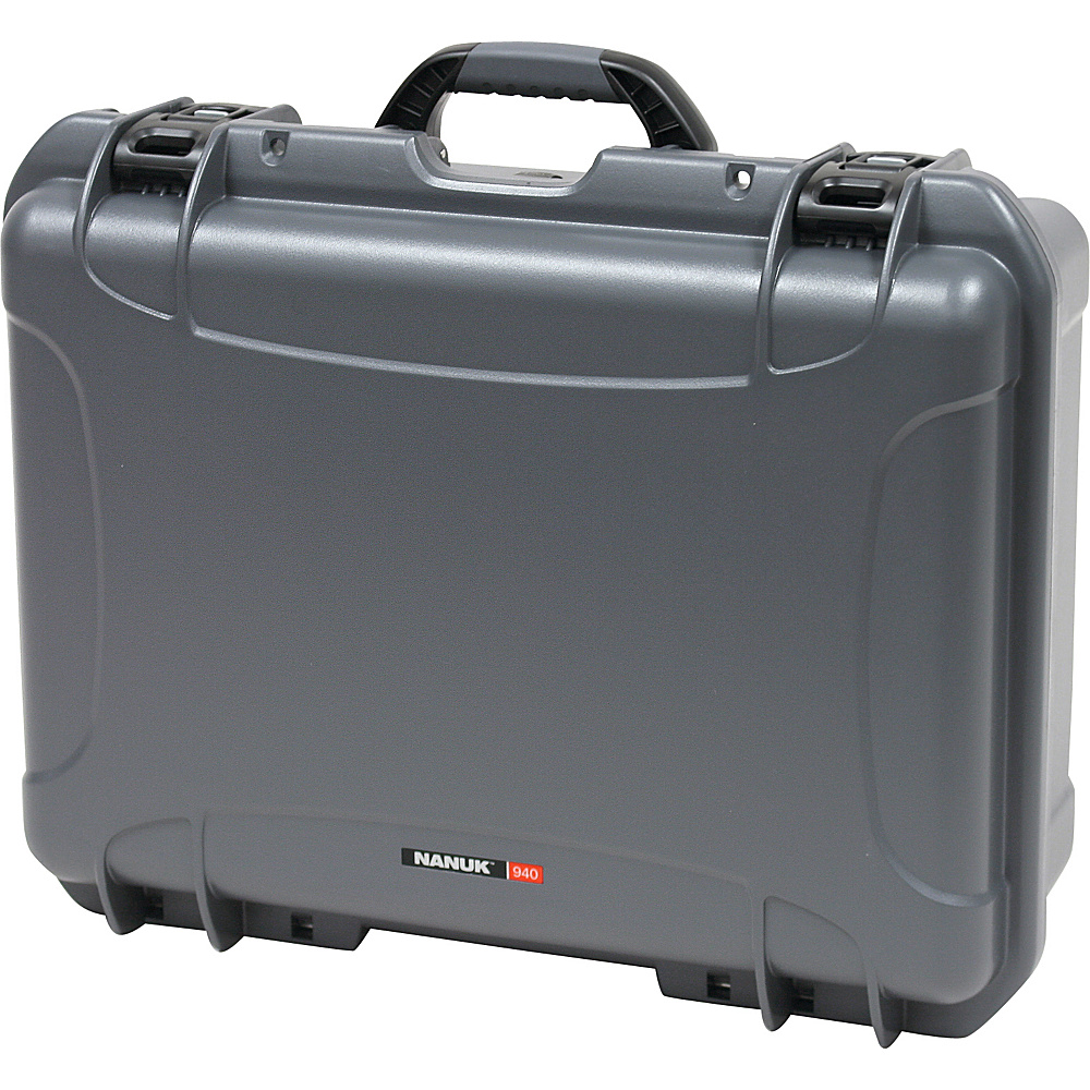 NANUK 940 Case w/padded divider - Graphite - Technology, Camera Accessories