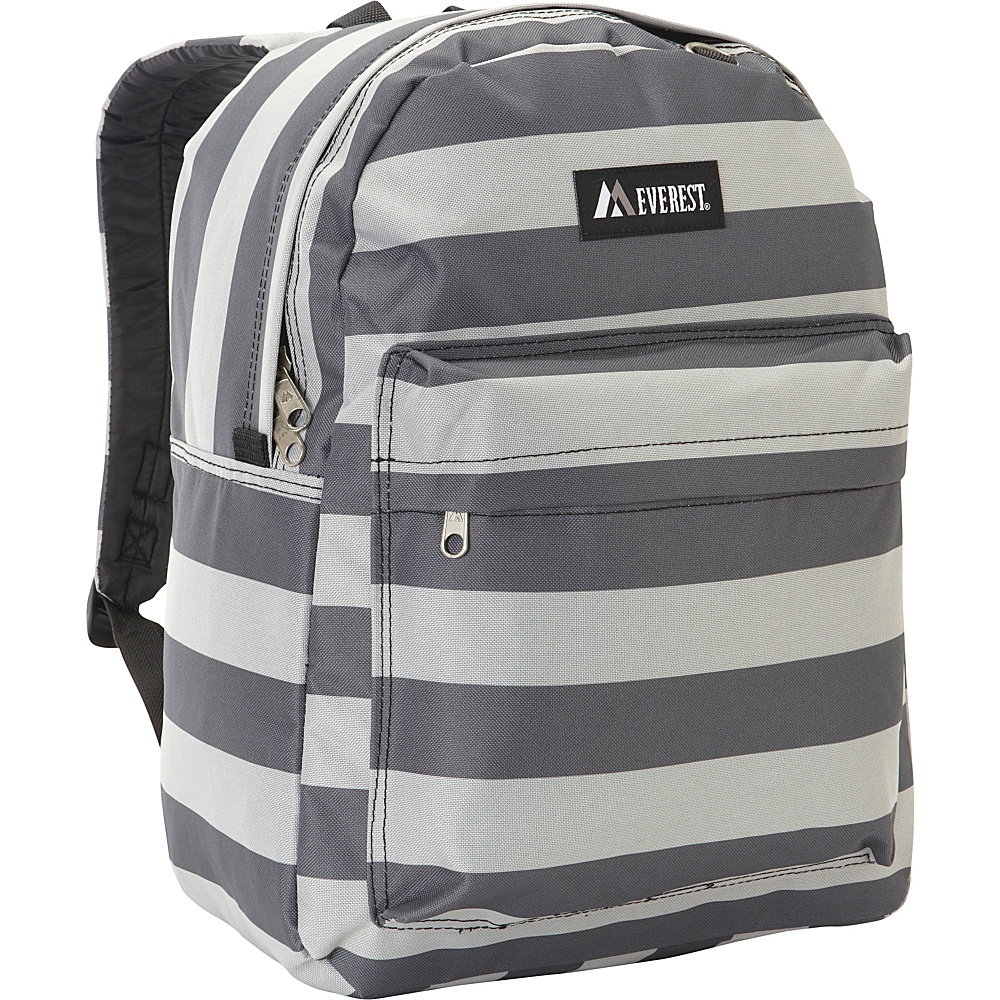 Everest Pattern Printed Backpack Stripe - Everest Everyday Backpacks - Backpacks, Everyday Backpacks