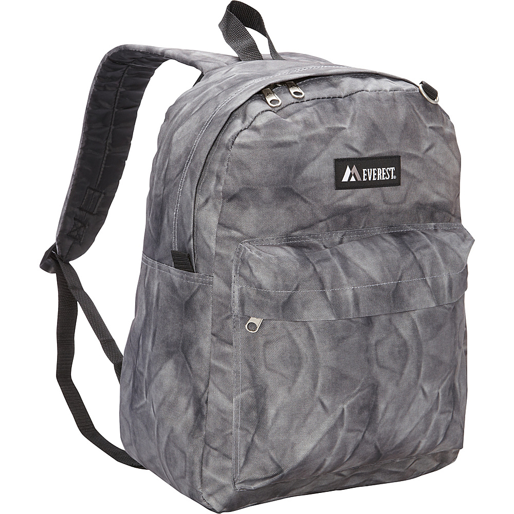 Everest Pattern Printed Backpack Grey Rock Everest Everyday Backpacks
