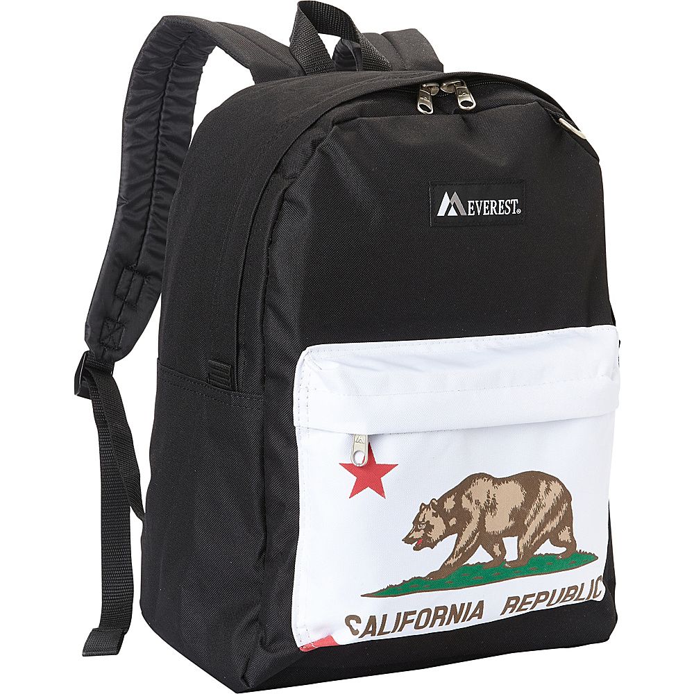 Everest Pattern Printed Backpack Bear - Everest Everyday Backpacks - Backpacks, Everyday Backpacks