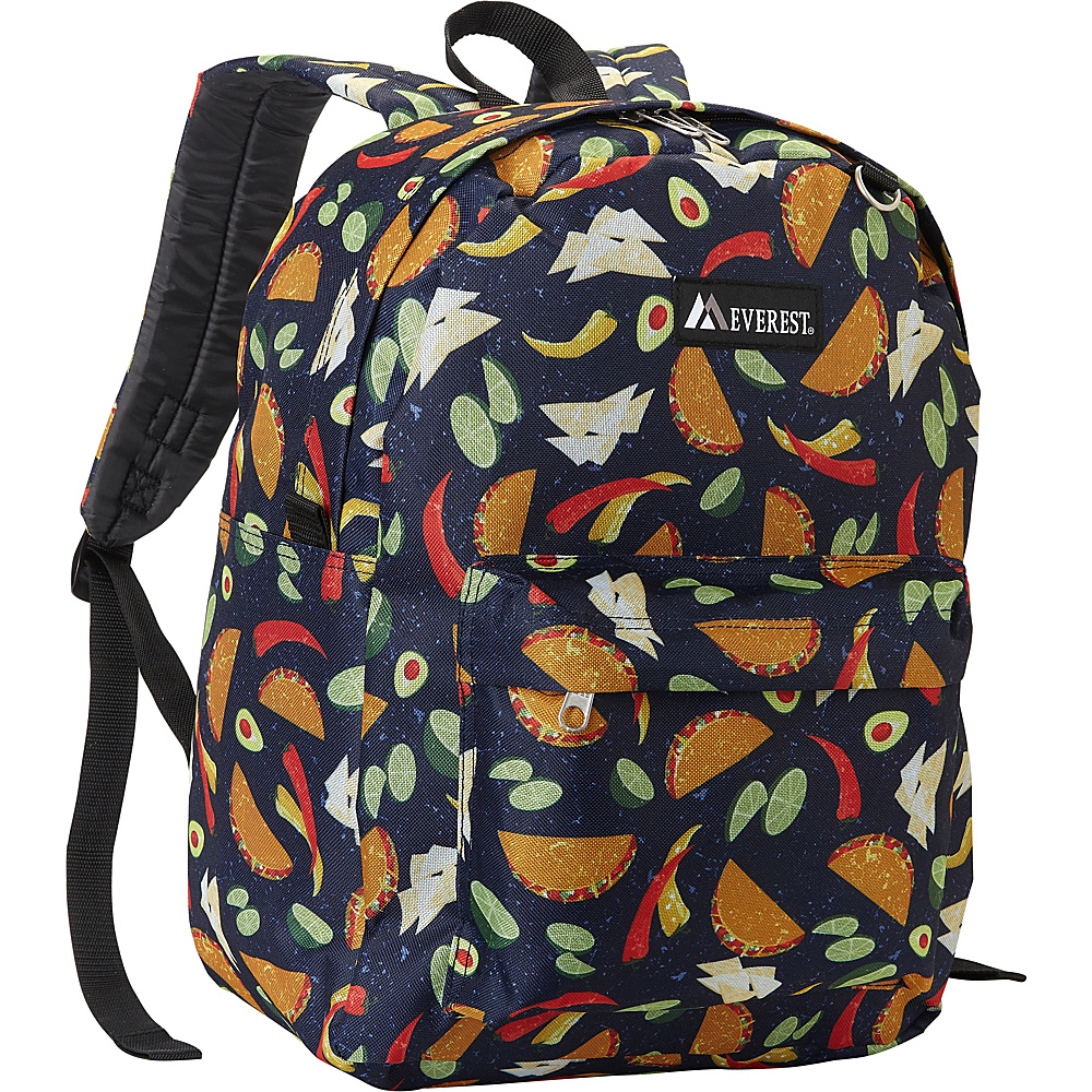 Everest Pattern Printed Backpack Tacos - Everest Everyday Backpacks - Backpacks, Everyday Backpacks