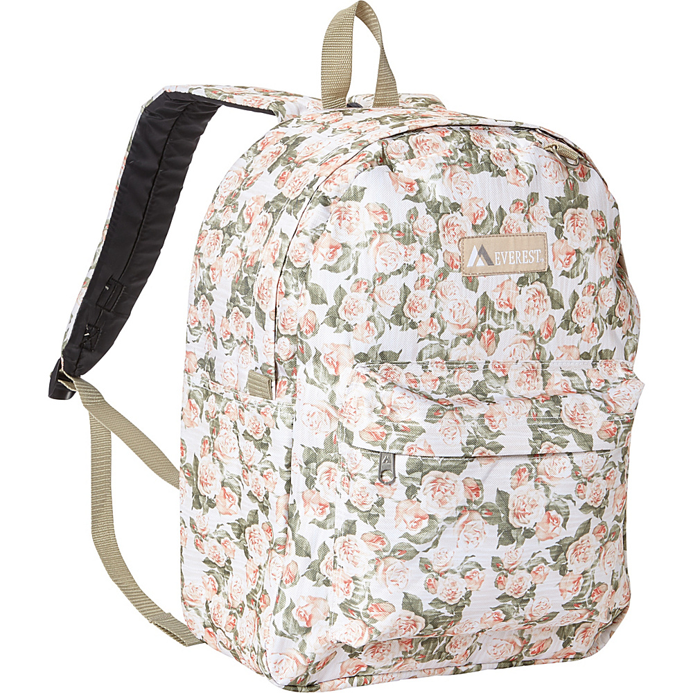 Everest Pattern Printed Backpack Vintage Floral - Everest Everyday Backpacks - Backpacks, Everyday Backpacks