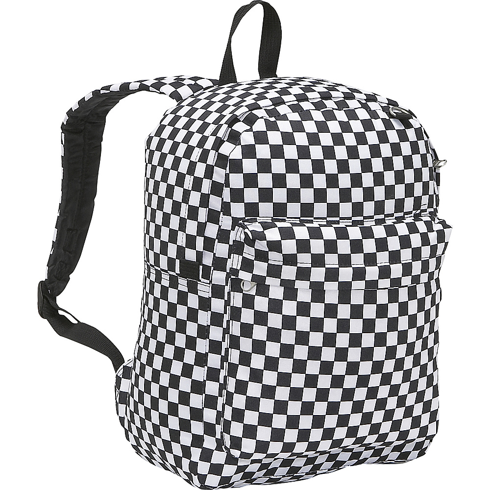 Everest Pattern Printed Backpack - Checker - Backpacks, Everyday Backpacks