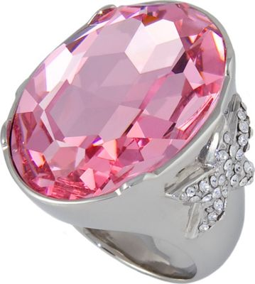 Michelle Monroe Large Pink Center Stone Ring