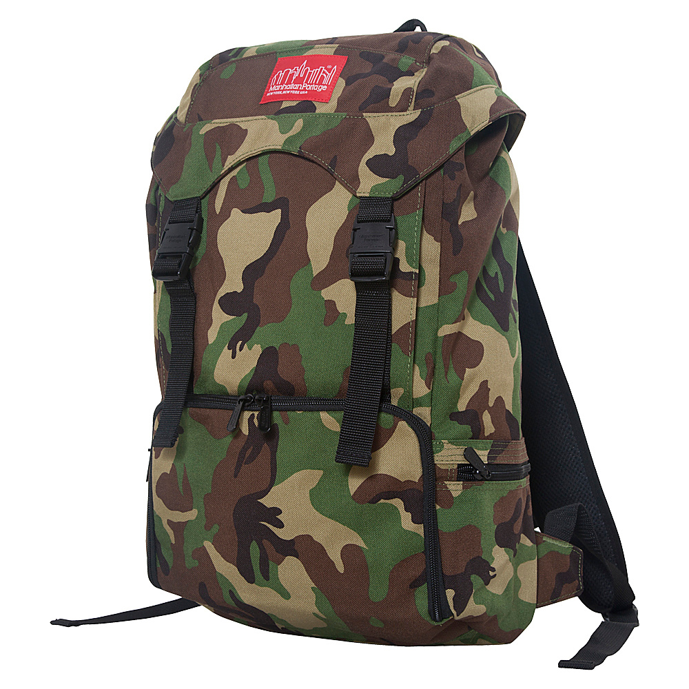Manhattan Portage CORDURA Hiker Backpack Camouflage - Manhattan Portage Day Hiking Backpacks - Outdoor, Day Hiking Backpacks