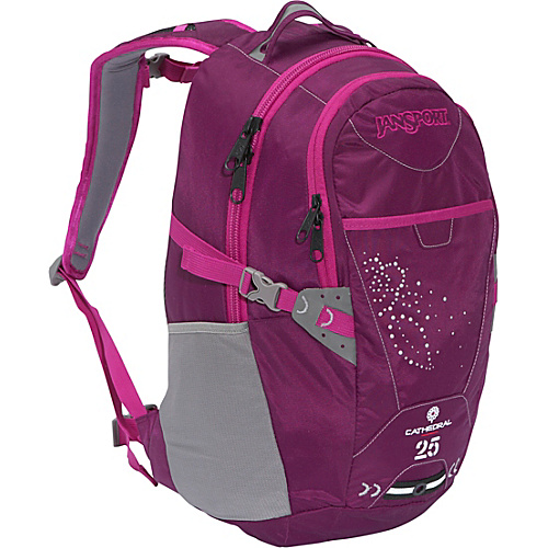 JanSport Womens Cathedral - Purple Indigo/Ultra - Backpacks, School & Day Hiking Backpacks