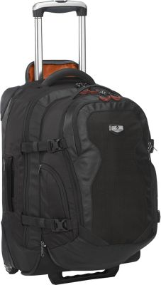 Eagle Creek Switchback Max 22 - Rolling Travel Backpack Black - Eagle Creek Travel Backpacks
