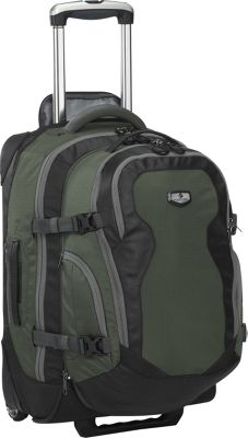 Eagle Creek Switchback Max 22 - Rolling Travel Backpack Cypress Green - Eagle Creek Travel Backpacks