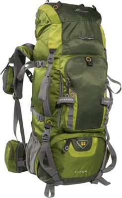 Hiking Camping: High Sierra Titan 55 Backpacking Pack 4 Colors