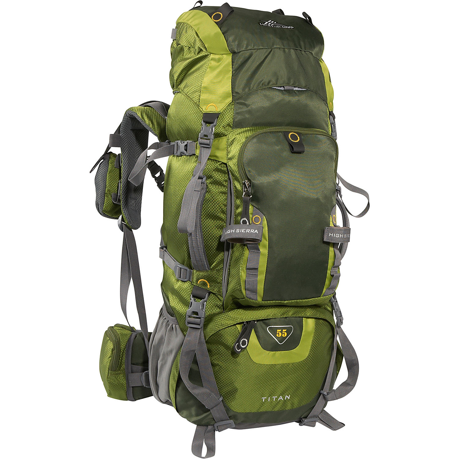 Camping Hiking Backpacking: High Sierra Titan 55 Pack