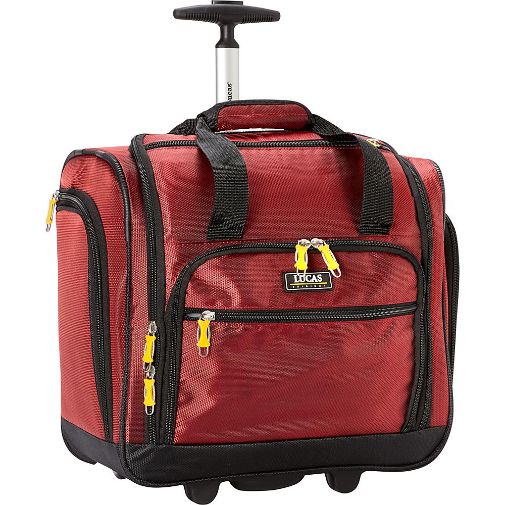 lucas wheeled under the seat cabin bag 16 3 colors. Black Bedroom Furniture Sets. Home Design Ideas