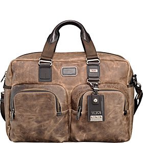 Alpha Bravo Everett Essential Tote Alpha Brown