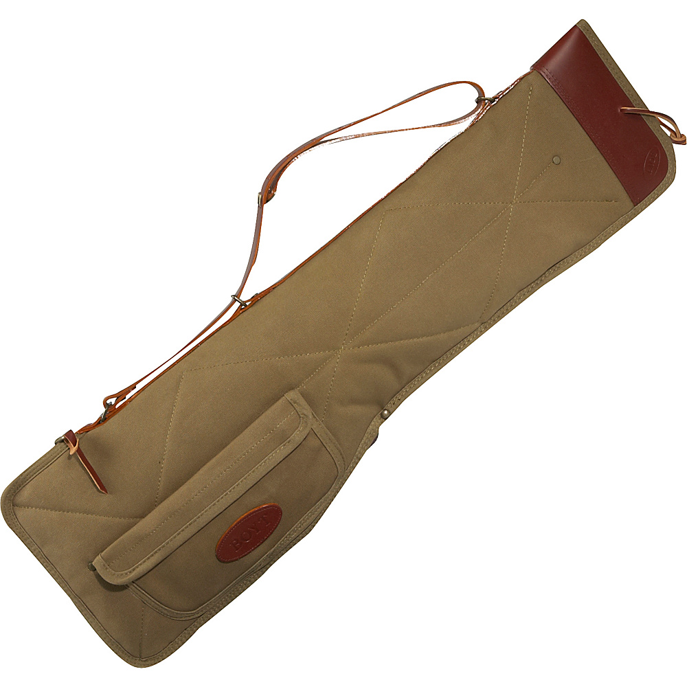 "Boyt Harness 34"" Takedown Canvas Case With Pocket Khaki/Flax - Boyt Harness Other Sports Bags"