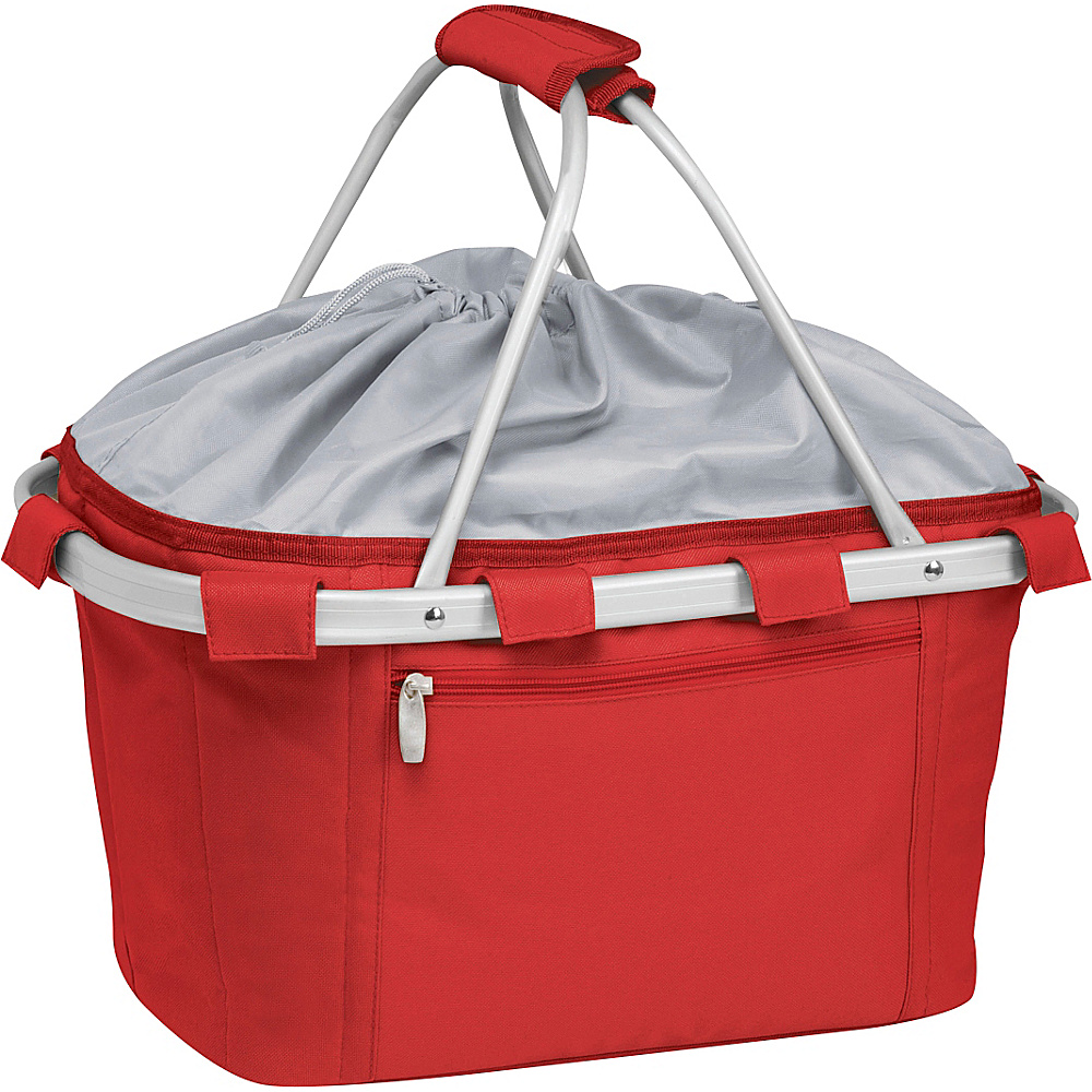 Picnic Time Metro Insulated Basket Red